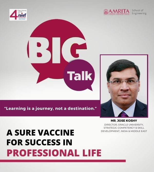 Continuous Learning: A Sure Vaccine for Success in Professional Life | Jose Koshy