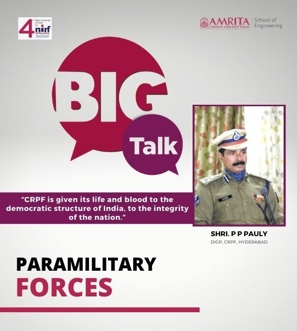 A Career in the Para-military Forces
