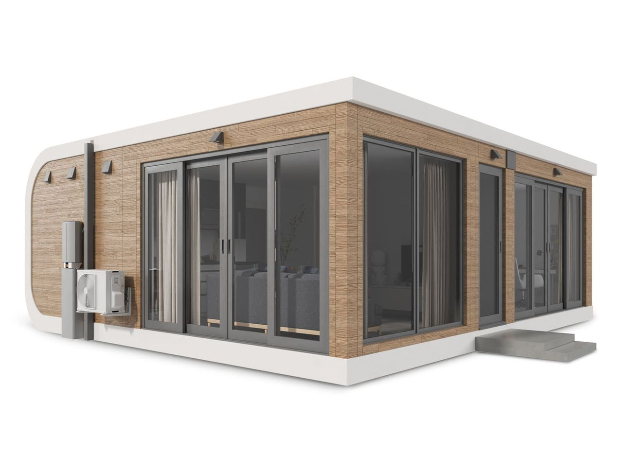 New proprietary material helps make 3D print a house!