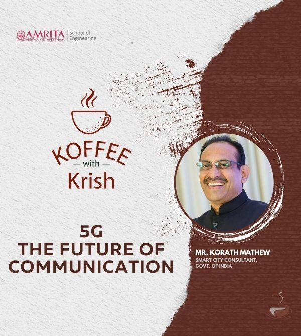 Decoding 5G and its importance in the future | Mr. Korath Mathew