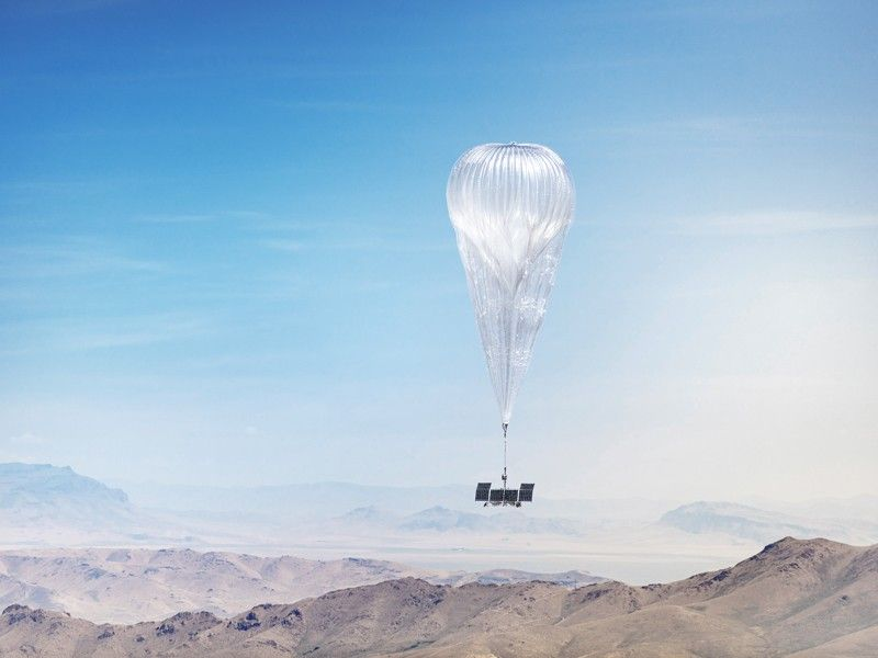 Autonomous balloons now equipped with artificial intelligence