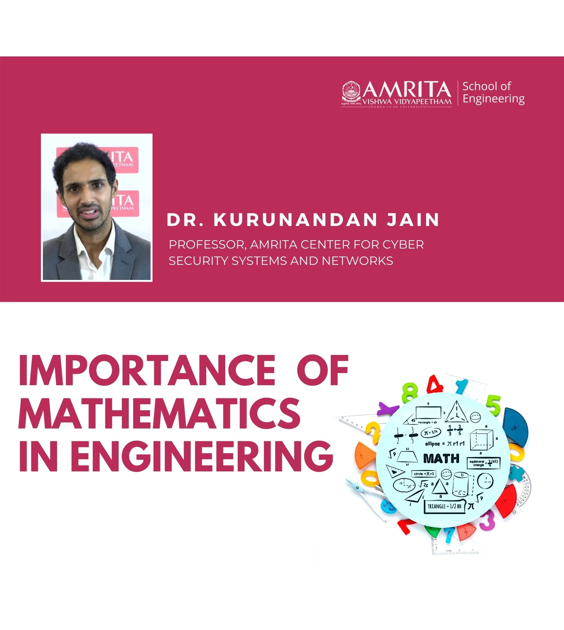 Importance of Mathematics in Engineering - Dr. Kurunandan Jain